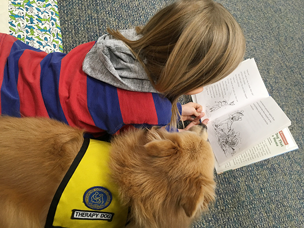 Central New York Pet Therapy Reading Programs