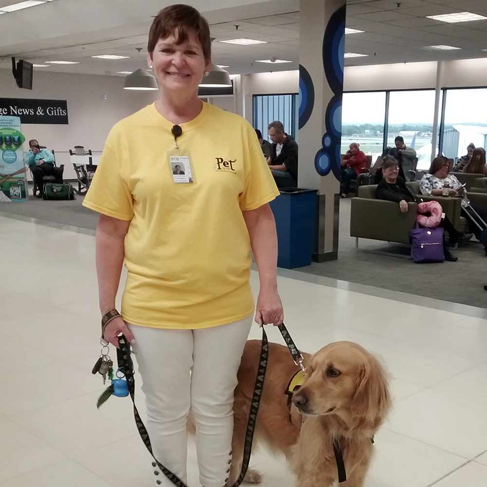 Syracuse Airport Pet Therapy