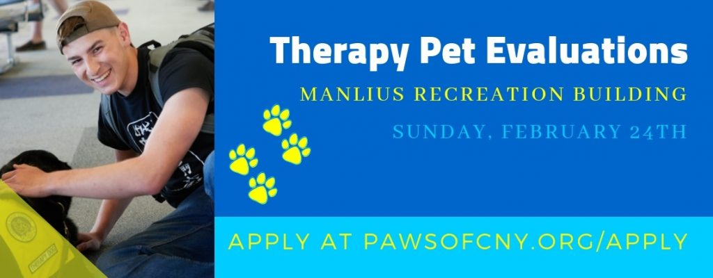 Manlius Pet Therapy Evaluations